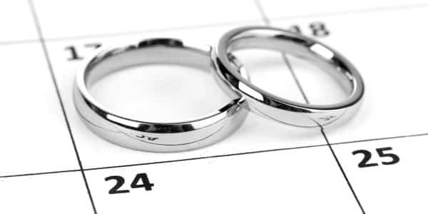 Das um und auf der perfekten Hochzeitsplanung