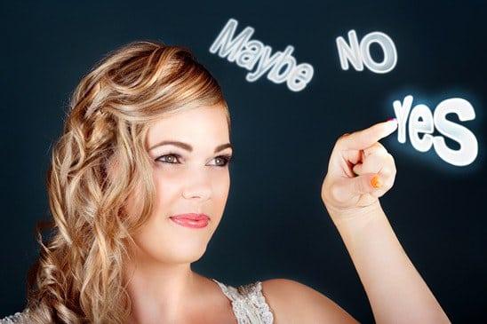 Heiratsantrag ja oder nein