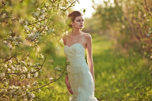 Brautkleid-Meerjungfrauenschnitt
