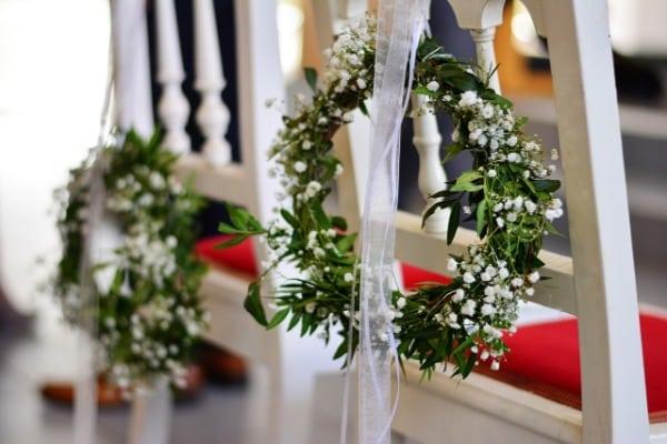 3. Hochzeitstrend - Botanical - Deko Kranz
