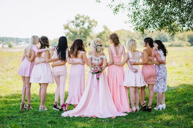 Hochzeitsgefolge