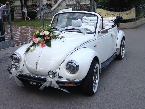 Einzigartiges Hochzeitsgefährt