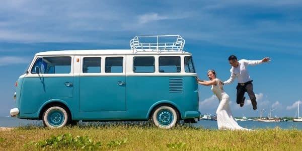 Fotobox Bulli - Idee zur Hochzeit